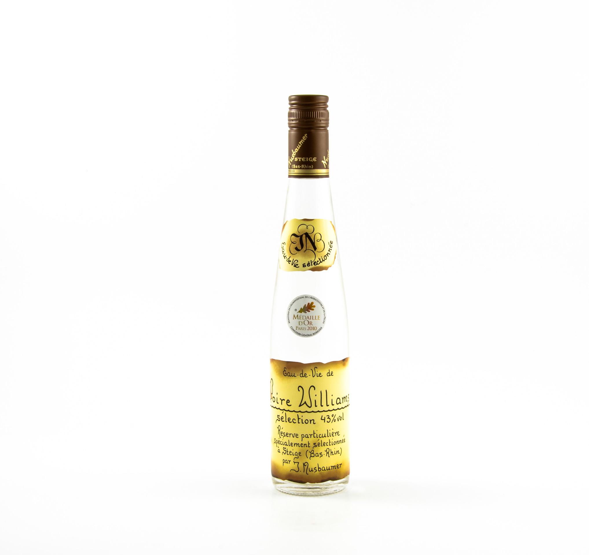 Eau de vie de poire williams s lection nusbaumer maison for Alcool de poire maison